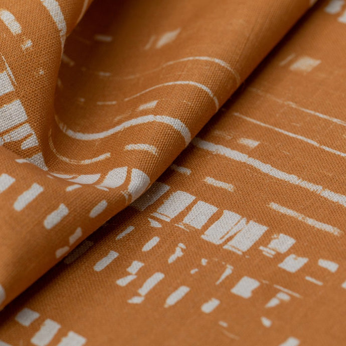 Traces (Straw) Fabric