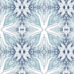 Tree Spirit Blue Wallcovering