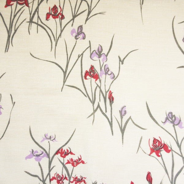 kyoto iris cool gray oyster fabric
