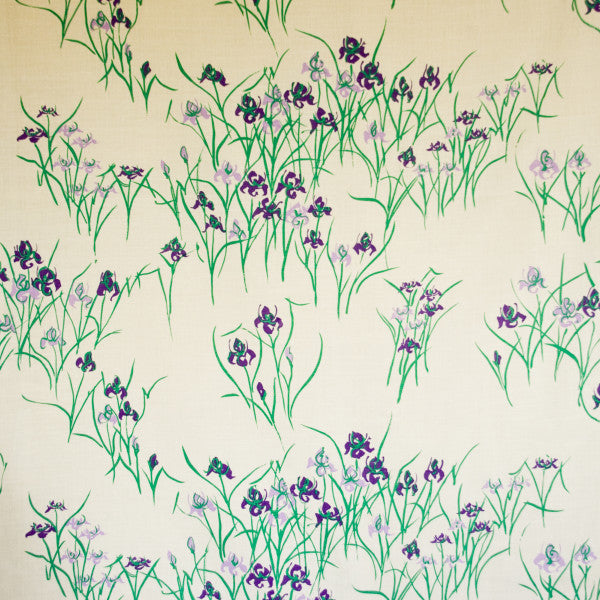 kyoto iris rich purple oyster fabric
