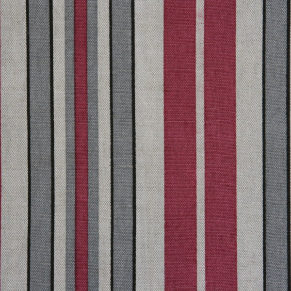 siena stripe tuscan wine oatmeal fabric