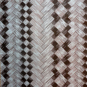 wicker screen brown fabric