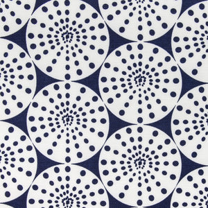 Burst Navy Fabric