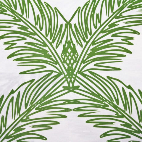 Palm Trellis Fern Green Fabric