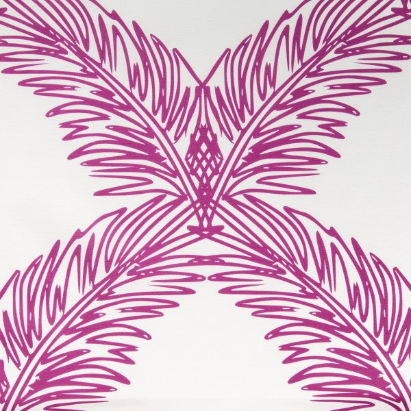 Palm Trellis Pink Fabric