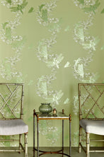 Load image into Gallery viewer, Dragonfly - Apple Green Wallcovering
