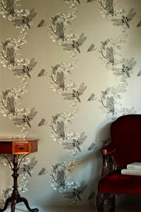 Dragonfly - Pewter Wallcovering