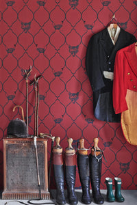 Fox & Hen - Brick Wallcovering