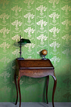 Load image into Gallery viewer, Lucky Charms - Georgian Green Wallpaper