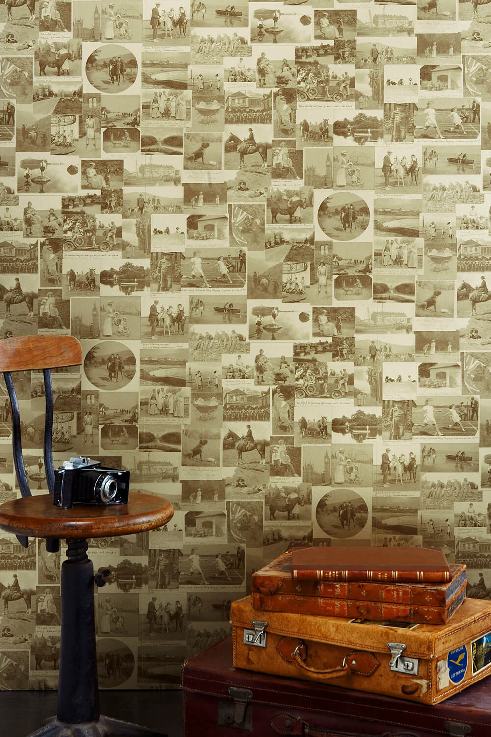 This Other Eden - Vintage Gold Wallcovering
