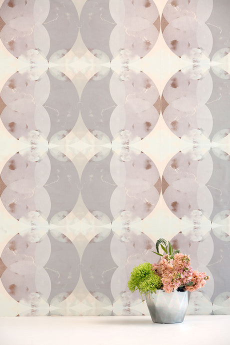 Nimbo White Peach Wallcovering