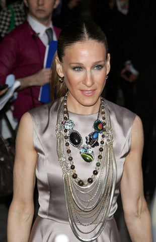 Sarah Jessica Parker - Red Carpet jewelry