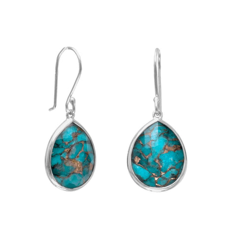 turquoise drop earrings online