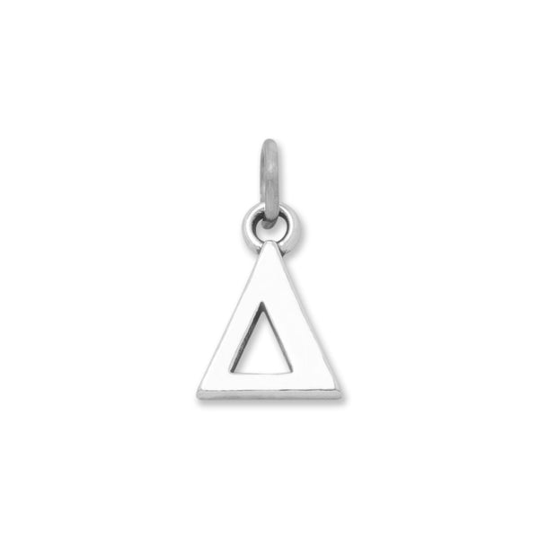 Greek Alphabet Letter Charm - Delta