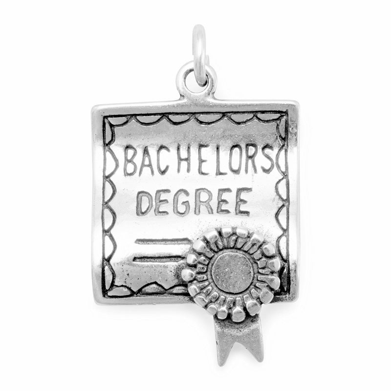 Bachelors Degree Charm