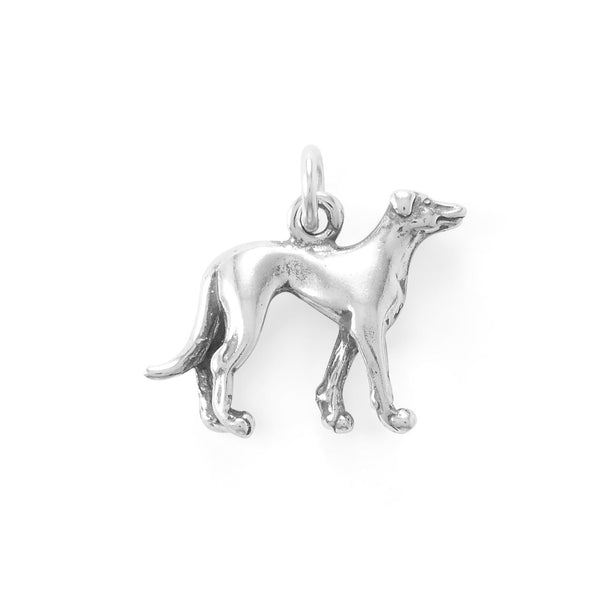 Standing Tall & Proud! Greyhound Charm