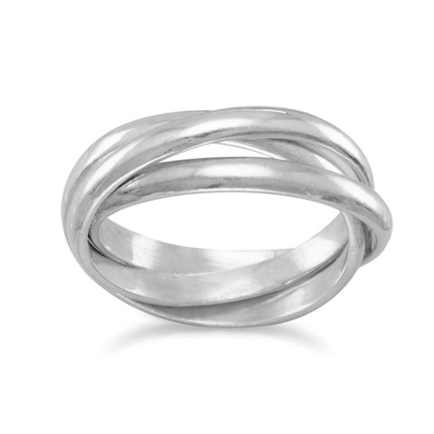 3mm 3 Band Rolling Ring