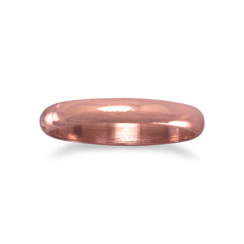 3mm Solid Copper Ring