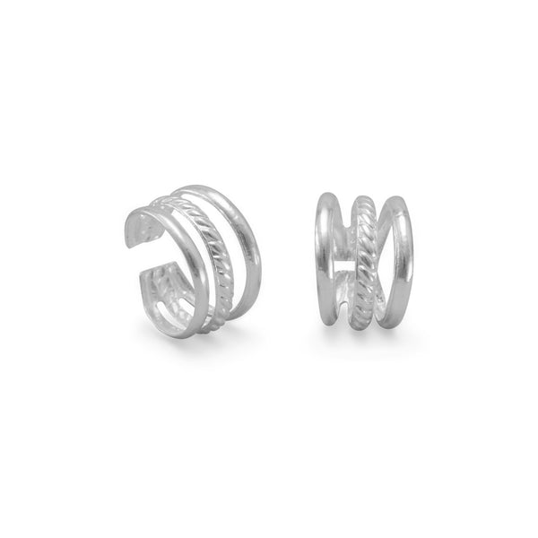 3 Row Ear Cuffs