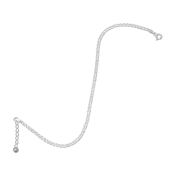 "9""+1"" Extension Rombo Chain Anklet"