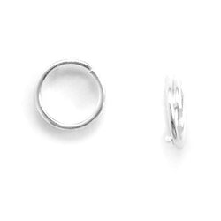 6mm Split Rings (Package of 10)