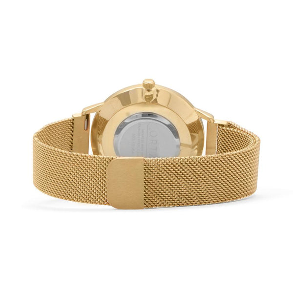 Gold Mesh Men's Magnetic Fashion Watch