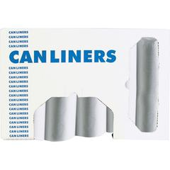 CLEAR CANLINERS 6MIL - 7-10GAL