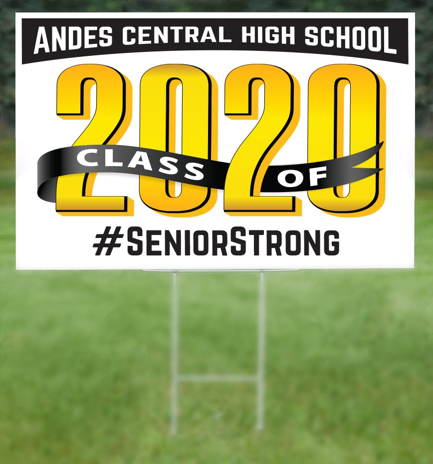 Andes Central School Senior 2020 Sign