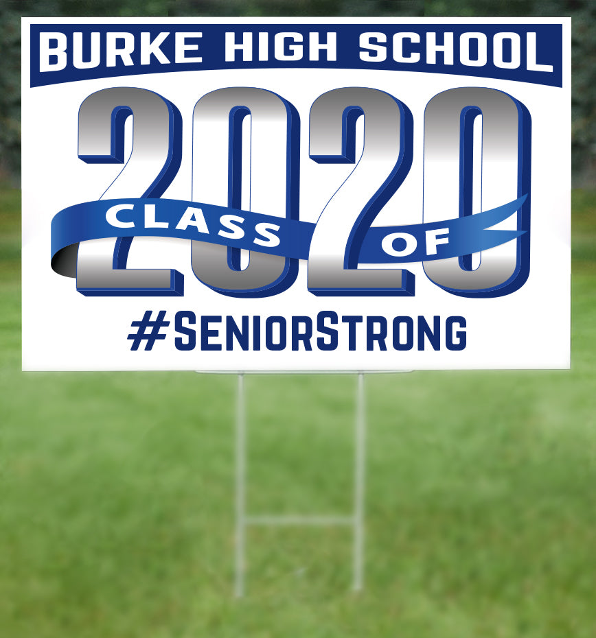 Burke School Senior 2020 Sign