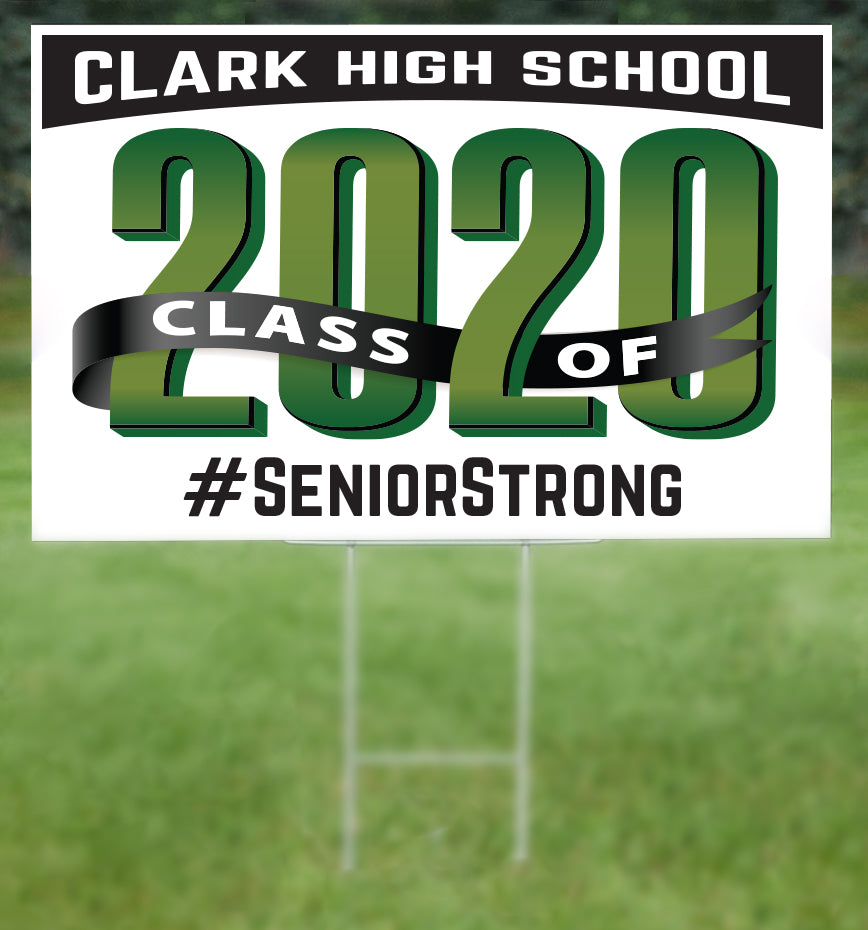 Clark School Senior 2020 Sign