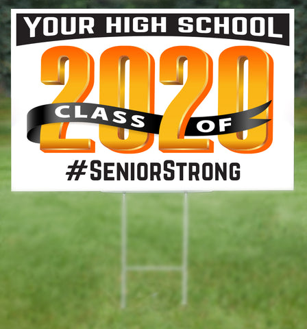 CUSTOM School Senior 2020 Sign