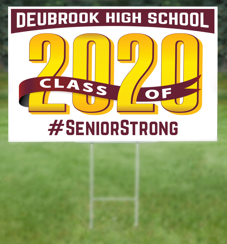 Deubrook School Senior 2020 Sign