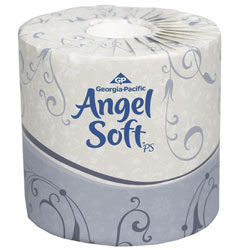 ANGEL SOFT 2PLY BATH TIS 4X4.05 80RL/CS