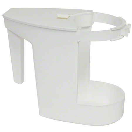 SUPER TOILET BOWL CADDIE - WHITE