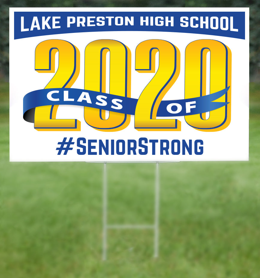 Lake Preston School Senior 2020 Sign