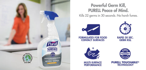 PURELL PROFESSIONAL SURFACE DISINFECTANT