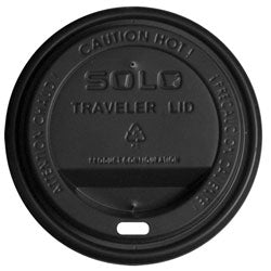 HOT DRINK LID - BLACK