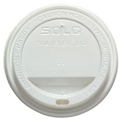 HOT DRINK LID - WHITE