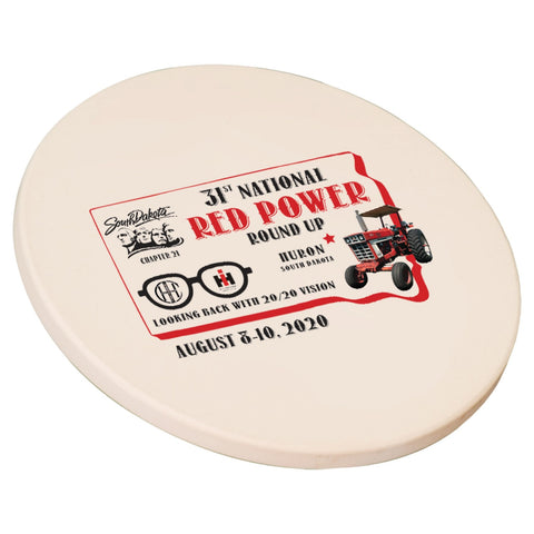Red Power Round Up 2020 Stone Coaster Set