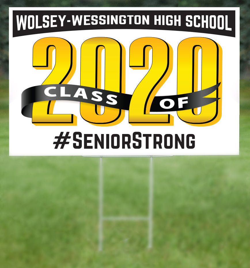 Wolsey-Wessington Senior 2020 Sign