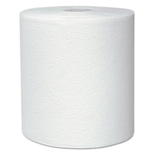 SCOTT 8X1000 WHT 1PLY ROLL TOWEL
