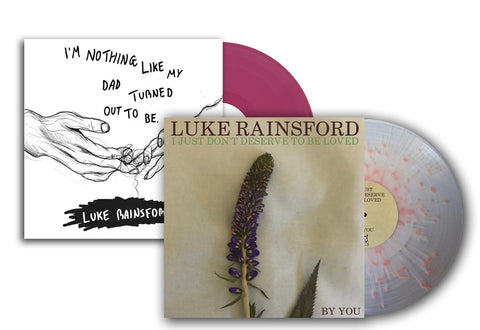 "Luke Rainsford - I Just Don't Deserve To Be Loved (12"") & I'm Nothing Like My Dad Turned Out To Be (2x12"") Bundle"