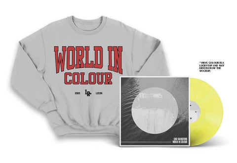 Luke Rainsford - World In Colour LP & Crewneck Bundle