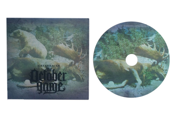 The October Game - Greenbacks (CD)