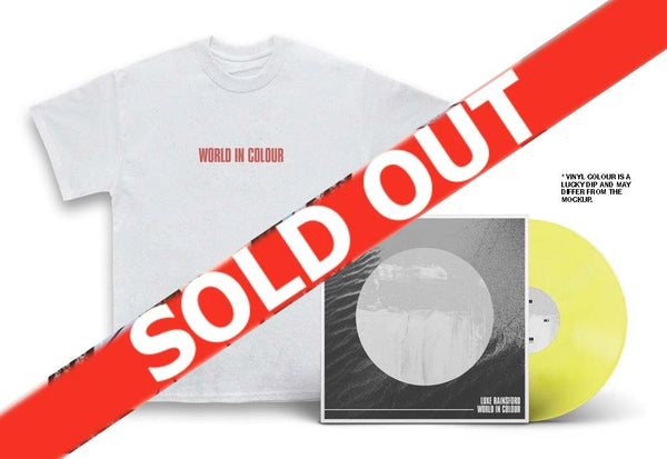 Luke Rainsford - World In Colour LP & T-Shirt Bundle