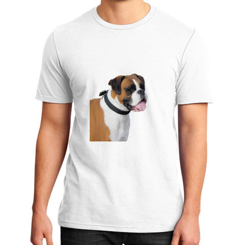 District T-Shirt (on man) White HRS4Pets