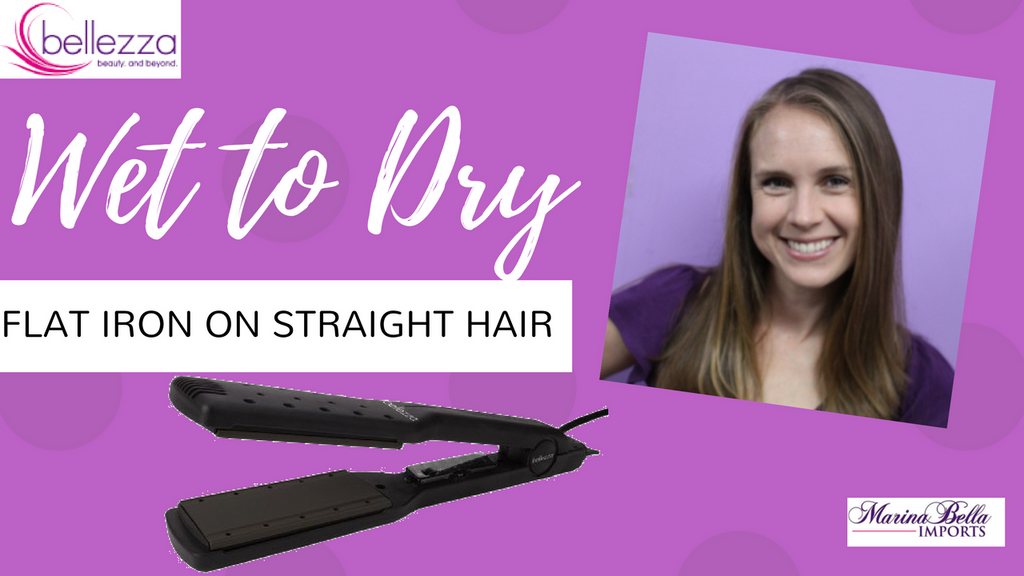 Try to the Wet to Dry Flat Iron