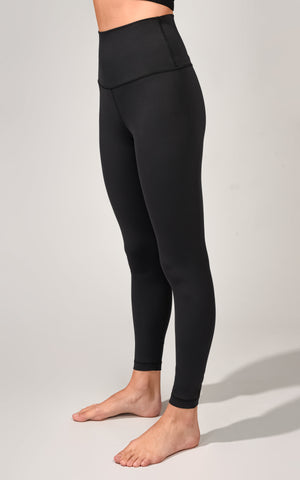 """Ecolink"" Sustainable Elastic Free Waistband High Waist 7/8 Ankle Legging"