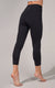 Squat Proof Interlink High Waist Capri with Side Pockets