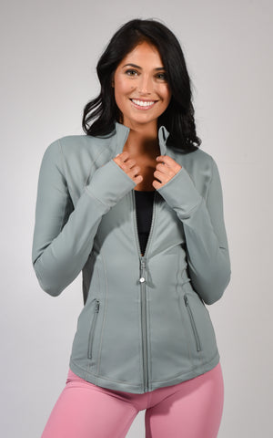 Full Zip Runner Jacket - Womens Jackets - 90 Degree by Reflex